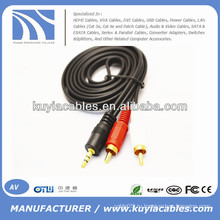 Аудио-кабель для компьютера / VCD / DVD / HDTV / MP3