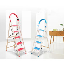 Folding Step Ladder Three/Four/Five /Six Multipurpose Aluminum Step Foldable Ladder Manufacture Price
