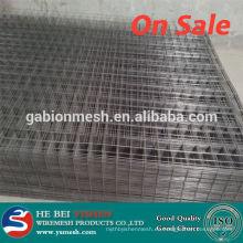 Super calidad de alambre soldado negro panel de malla de valla y alambre de alambre soldado galvanizado vallas de alambre recubierto de PVC