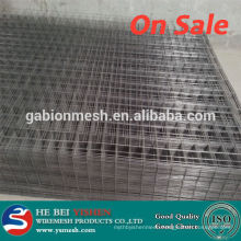 Super quality black welded wire fence mesh panel&galvanized welded wire fence PVC coated wire fencing