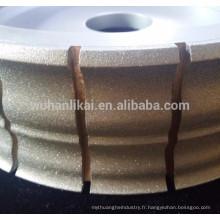 meules diamantées pour meules souples en carbure de tungstène