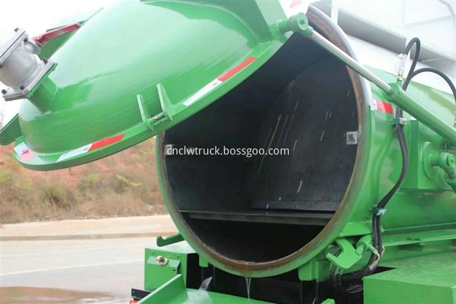 food waste hauling truck details