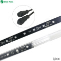 16pixels 64leds 3d led tube falling star dmx smd5050 rgb 3d led meteor light