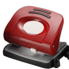 Perforadora de agujero pequeño rojo oscuro