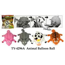 Balão de bola de animal