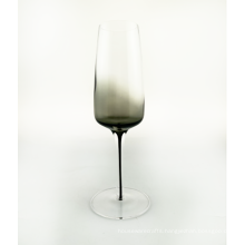 Smoky Gray Color Champagne Glass