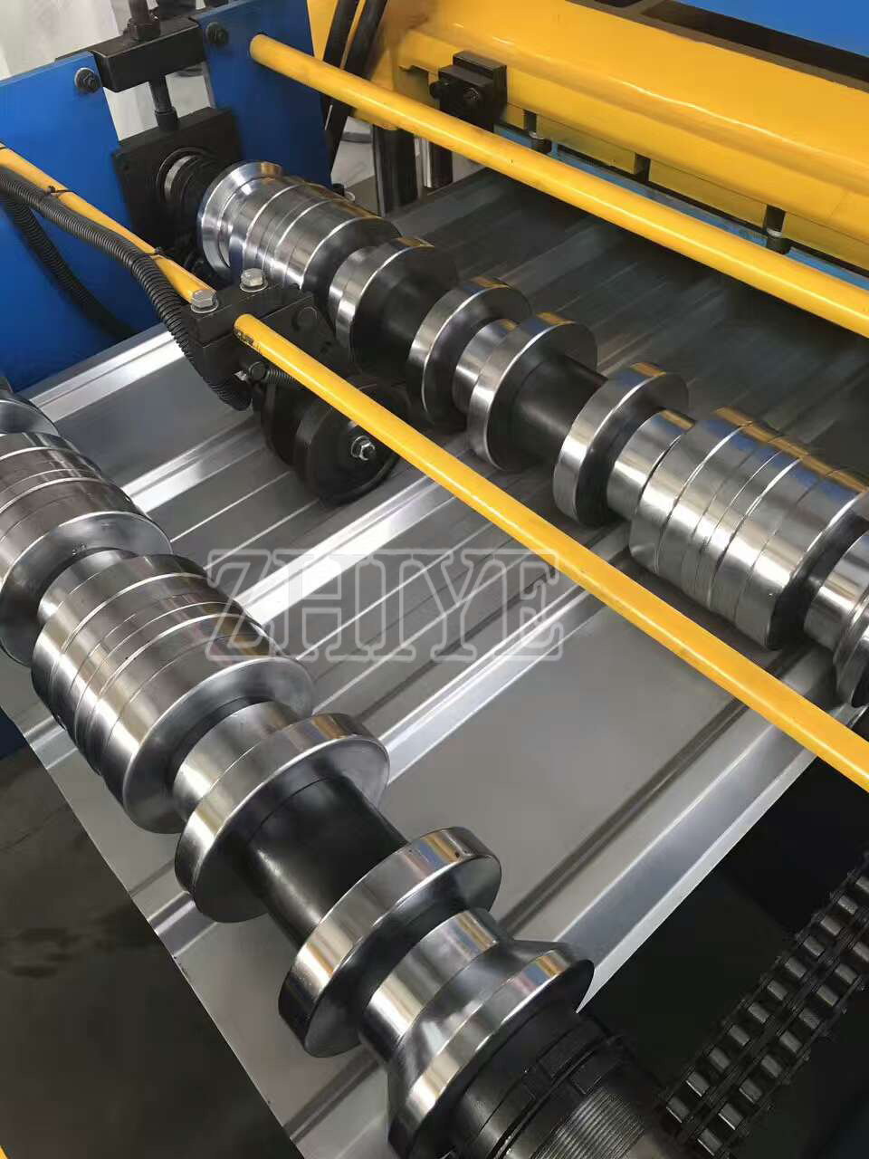 steel tiles machine