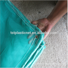 HDPE UV Resistant HDPE Green color Round yarn monofilament Sun Shade Nets