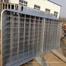 сверхмощный горячий сверхмощный горячий окунутый гальванизированный верховая панели /металла скот поле фермы забор ворота для овец или лошадей