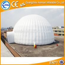 Tente gonflable personnalisée à dôme transparent, bâtiments domotiques gonflables, prix dôme gonflable