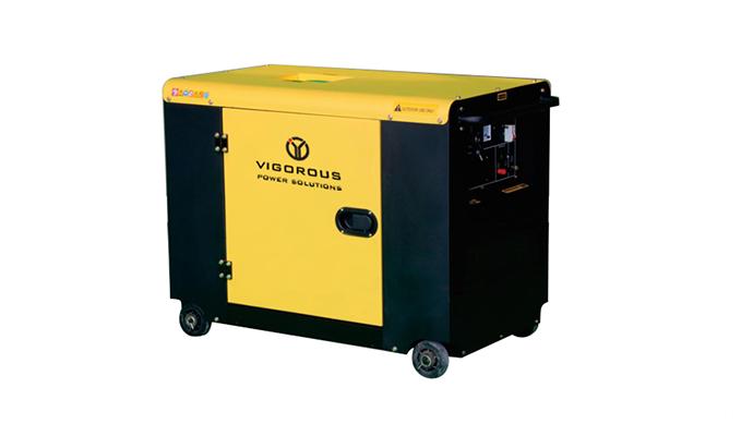 4.5KW Silent Emergency Diesel Generator