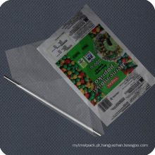 Película de embalagem impressa personalizada PE