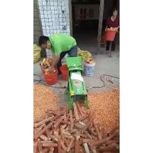Low Cost Maize Peeler And Thresher Machine