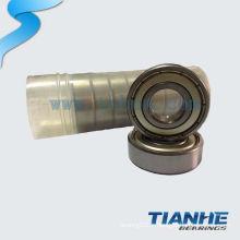 Chrome steel Miniature Ball Bearing 697 ZZ jiangsu livre des échantillons
