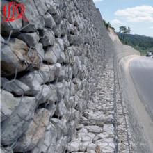 Malha de gaiola de pedra de gabião de alta qualidade