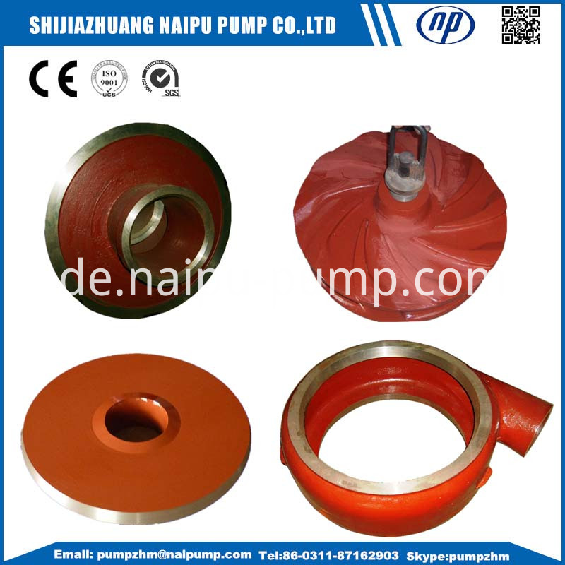 slurry pump wet end part