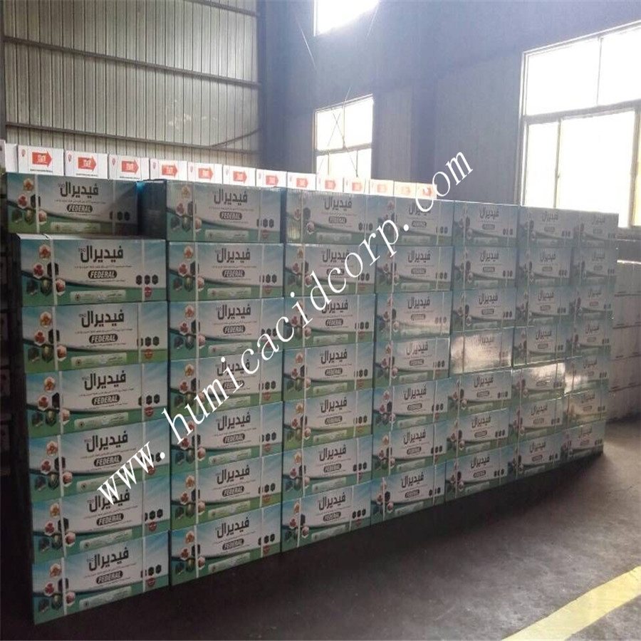 Super potassium humate packing