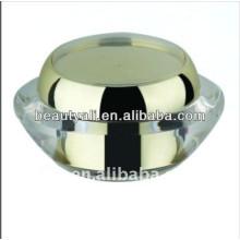 Red de doble pared acrílico crema cosmética tarro