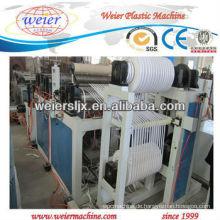 400mm PVC-Kantenbandbogenlinie mit Schlitzsystem