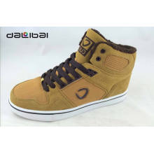High ankle Suede upper 2015 new design men leather suede shoes