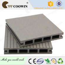 2016 new system coowin hollow and waterproof wpc decking