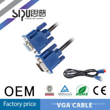 SIPU 2 monitor to 1 pc vga y splitter cable vga to avi cable usb male to female vga