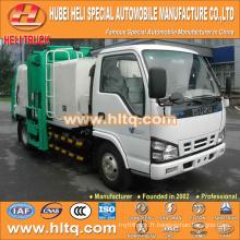 Technologie JAPAN 4x2 120hp côté chargement camion poubelles