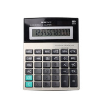 12 Digits Solar Power Business Desk Calculator