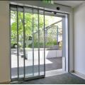 Sistema de puerta automática telescópica de vidrio deslizante dsd eléctrico.