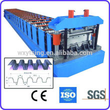YTSING-YD-4276 Pass CE and ISO Metal Floor Bearing Plate Machine, Metal Deck Roll Forming Machine
