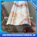 pvc artificial marble baseboard moulding interior decoration
