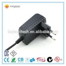 EU wall mount plug 9v 500mA ac dc power adapter transformer manufacturer