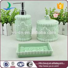 Sistema de cerámica del accesorio del cuarto de baño 3pcs caliente-venta
