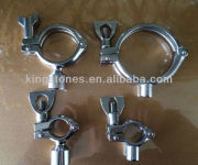 3A pipe fittings sanitary pipe hangers