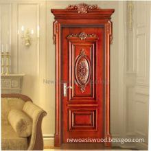 Solid teak wood doors