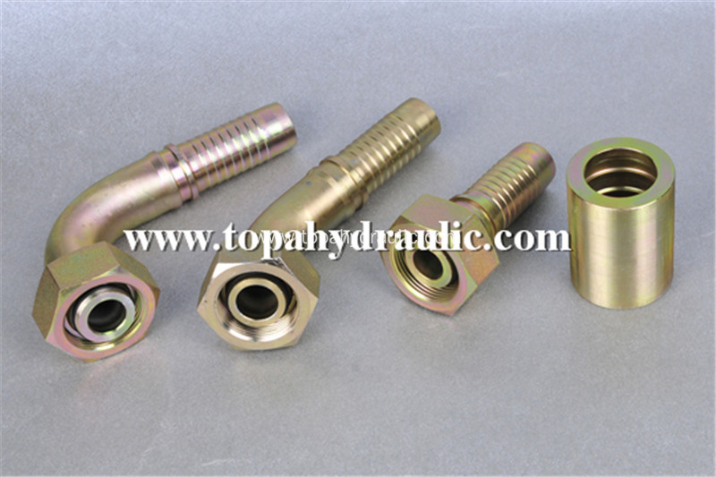 metric hydraulic air hose high pressure fittings