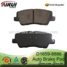 D1659-8886 Auto Brake Pad for Cadillac ATS OE22857909