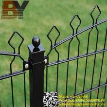 Valla de doble malla de alambre para valla de jardín