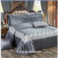 Luxus-Hochzeit gesteppte Bettdecken gesetzt mit Spitze, Qualität