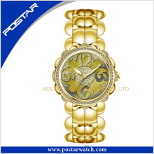 Psd-2260 Bracelet Quartz Watch with Pink Mop Dial