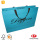 Shopping bag di carta con manico a nastro