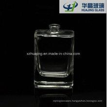 50ml Clear Retangular Glass Perfume Bottle