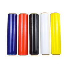 High Quality Soft Blue Industrial Wrapping Film Hand Plastic Stretch Film Roll