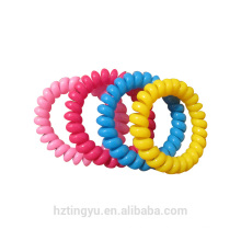 Elastic Telephone Wire Cord Head Ties Hair Band Rope 10pcs Girl Elastic Rubber Hair Ties Band Rope Ponytail Holder Headband