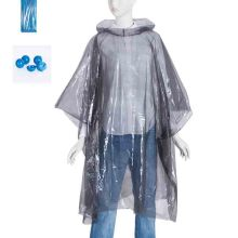 Disposable volwassen LDPE regenponcho's