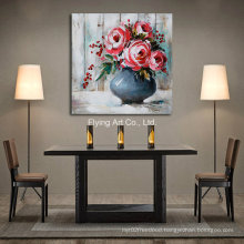 Home Decorative Abstract Flower Oil Painting