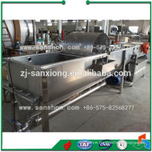 Water Flow Type Fruit and Vegetable Washing Machine