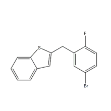 2  -  [(5-ブロモ-2-フルオロフェニル)メチル]  - ベンゾ[b]チオフェンIpragliflozin CAS 1034305-17-3に使用