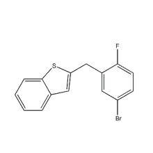 2 - [(5-bromo-2-fluorofenil) Metil] -benzo [b] tiofeno utilizado para Ipragliflozina CAS 1034305-17-3