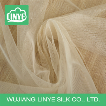simple style flowing transparent fabric, thin curtain fabric